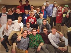 Pledge class of 2013 on a brotherhood retreat